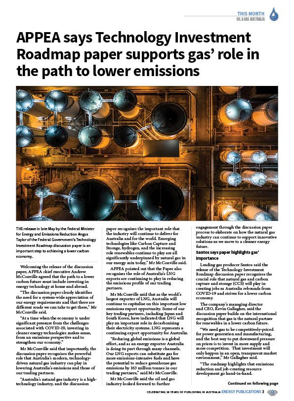 Oil & Gas Australia – May 2020 – Page 5