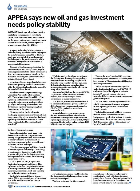 Oil & Gas Australia – May 2020 – Page 6