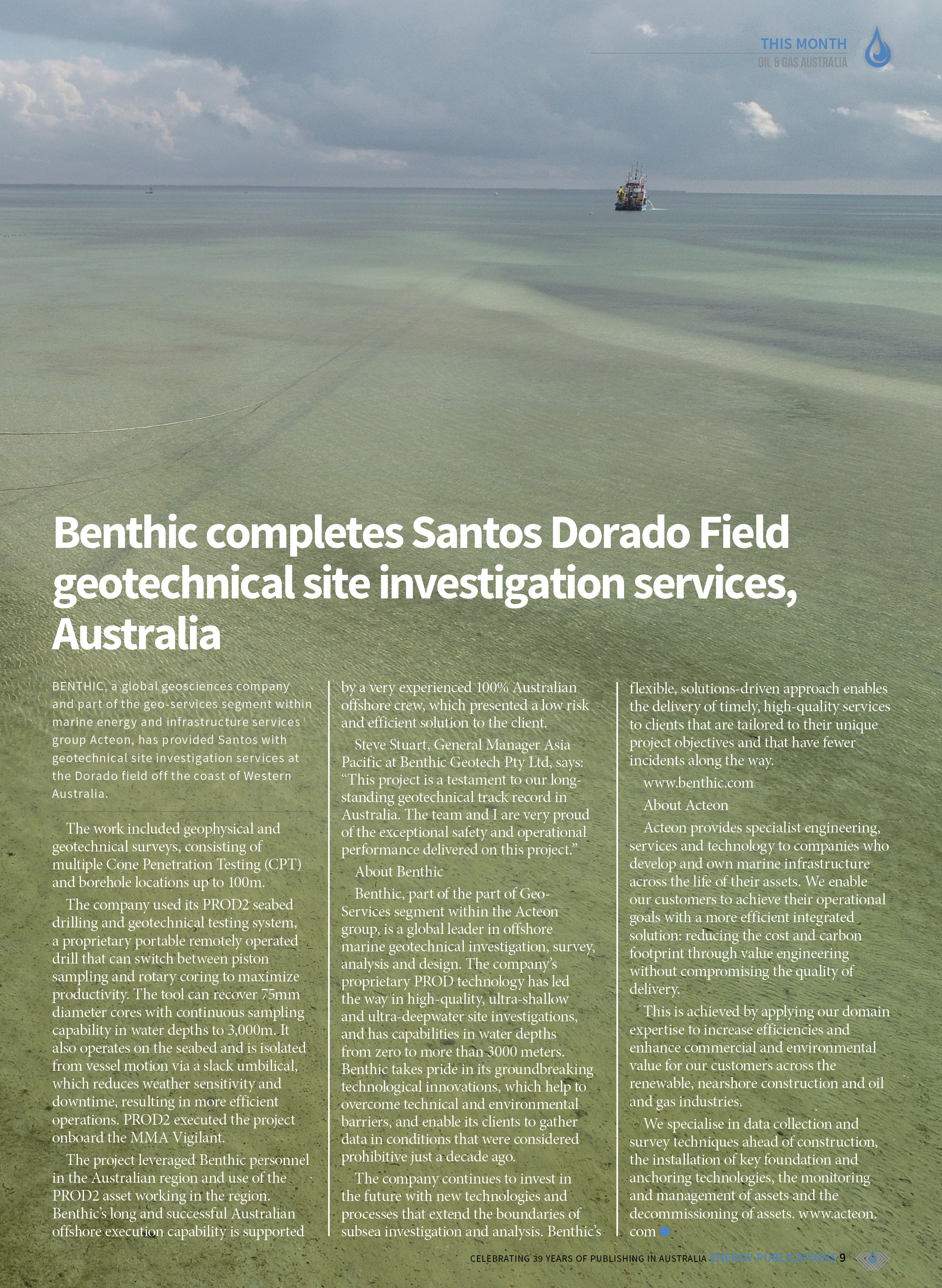 Oil & Gas Australia – May 2021 – Page 11