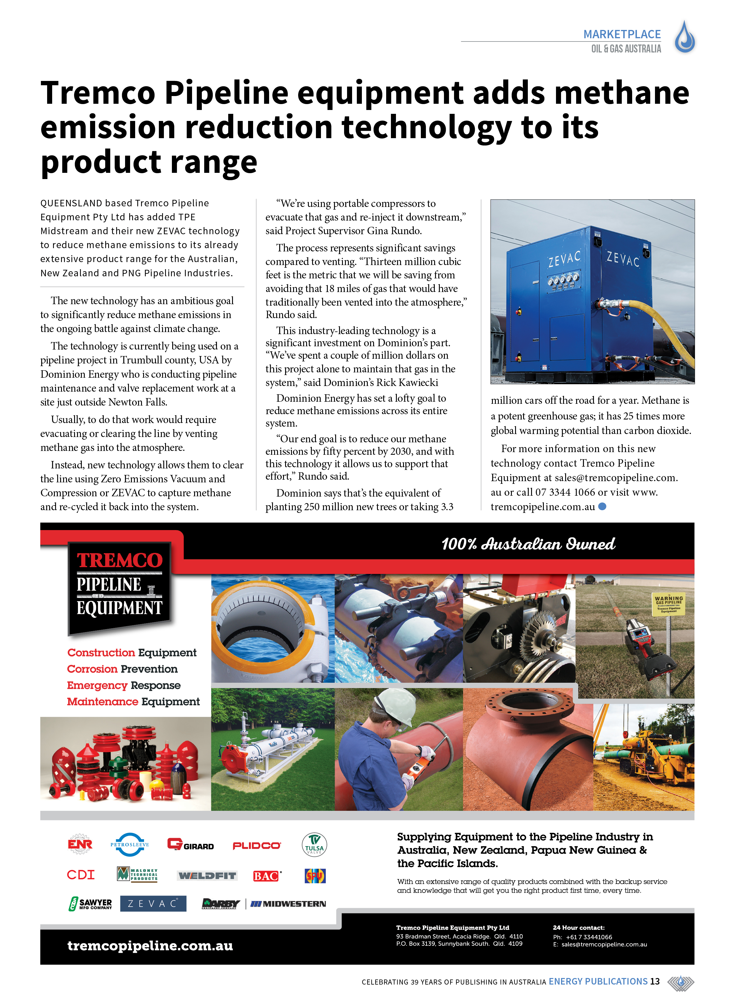 Oil & Gas Australia – May 2021 – Page 15