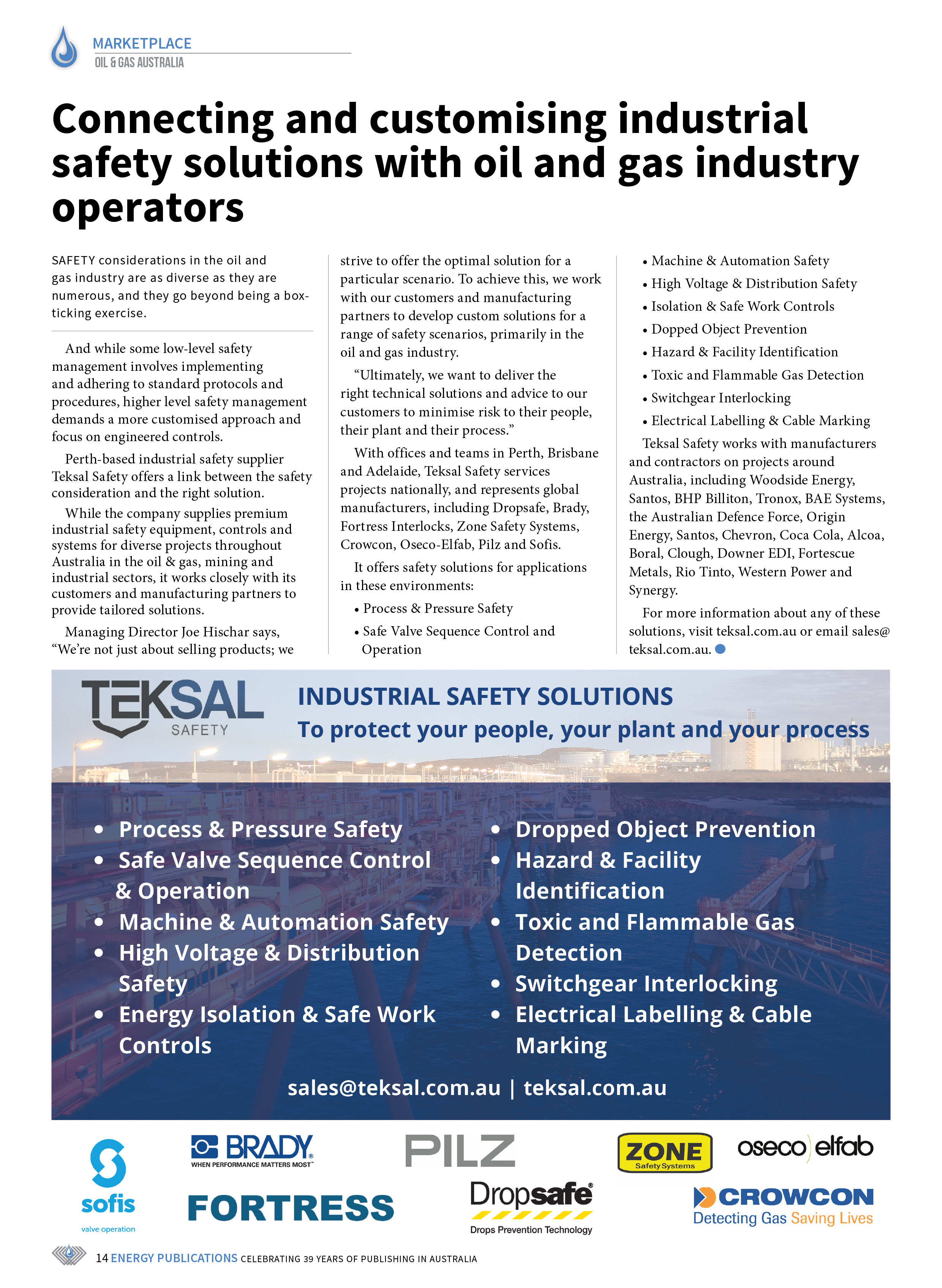 Oil & Gas Australia – May 2021 – Page 16