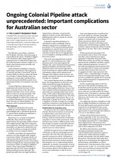 Oil & Gas Australia – May 2021 – Page 19