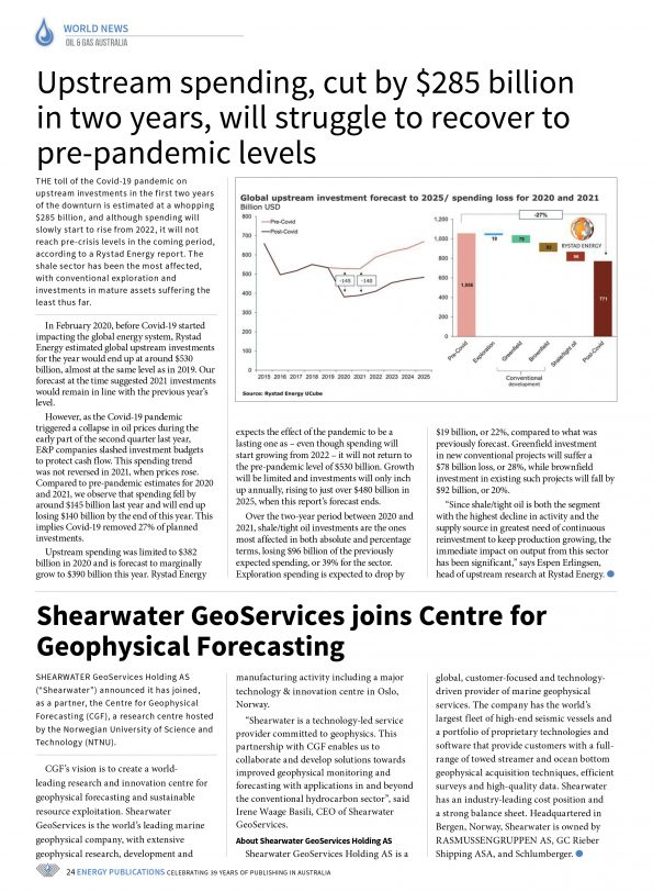 Oil & Gas Australia – May 2021 – Page 26