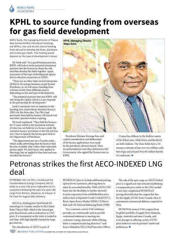 Oil & Gas Australia – May 2021 – Page 32