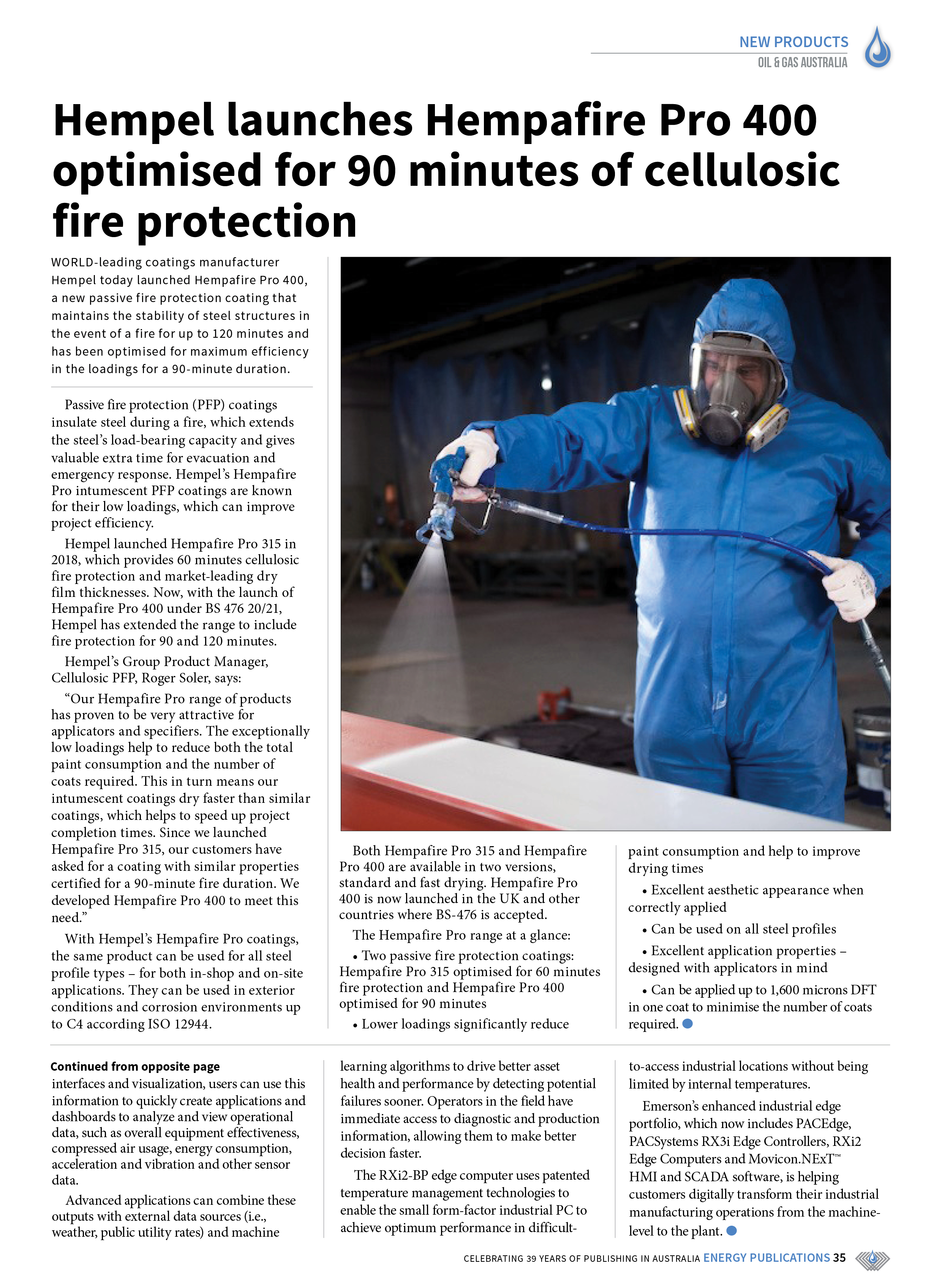 Oil & Gas Australia – May 2021 – Page 37
