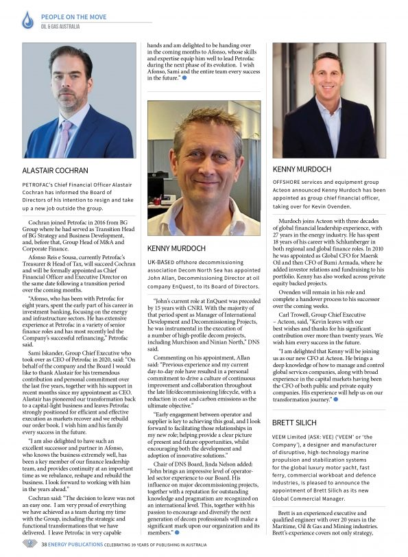 Oil & Gas Australia – May 2021 – Page 40
