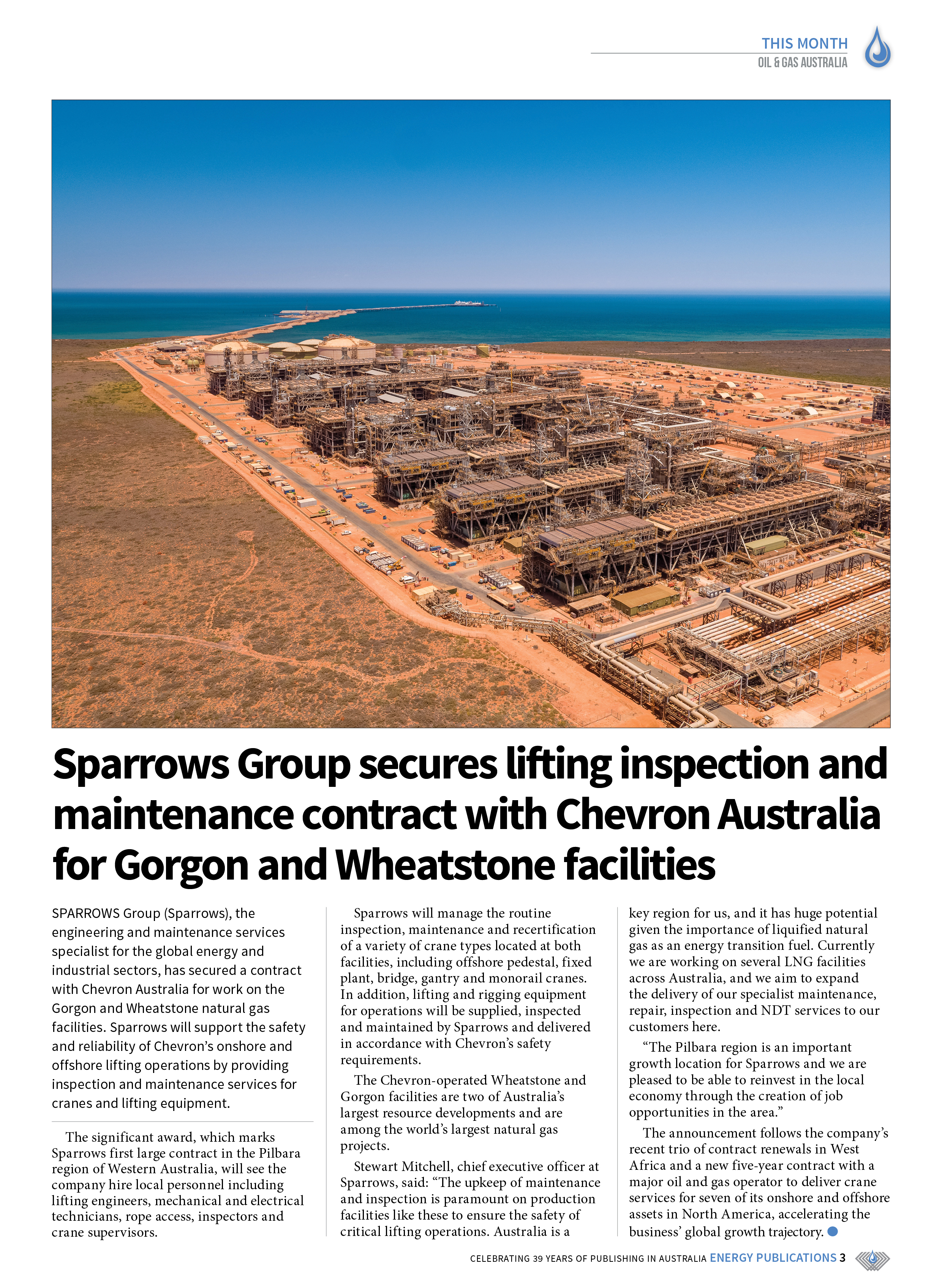 Oil & Gas Australia – May 2021 – Page 5