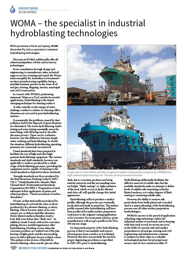 Oil & Gas Australia – October 2020 – Page 12