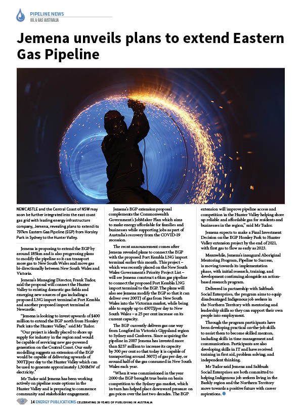 Oil & Gas Australia – October 2020 – Page 16