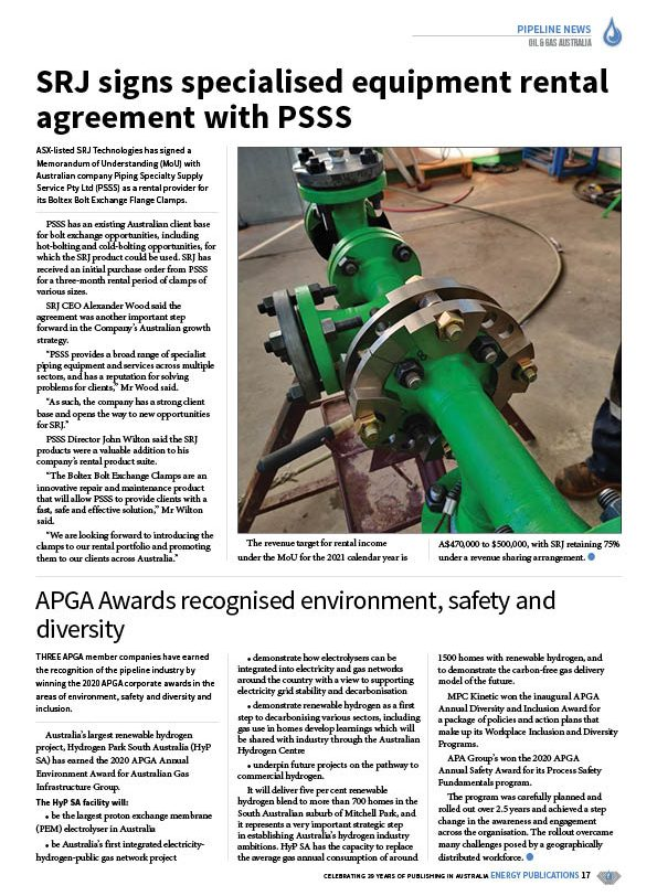 Oil & Gas Australia – October 2020 – Page 19