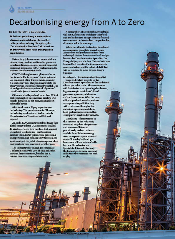 Oil & Gas Australia – October 2020 – Page 22