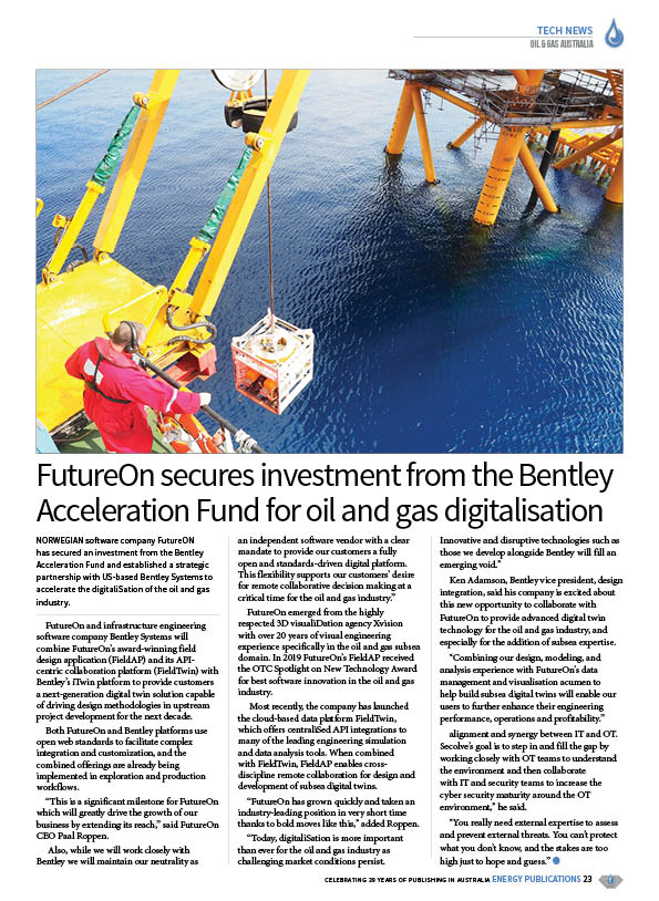Oil & Gas Australia – October 2020 – Page 25