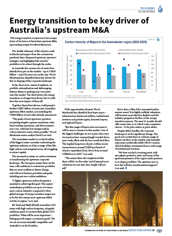 Oil & Gas Australia – October 2020 – Page 27