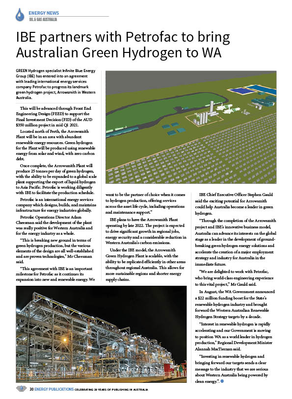 Oil & Gas Australia – October 2020 – Page 32