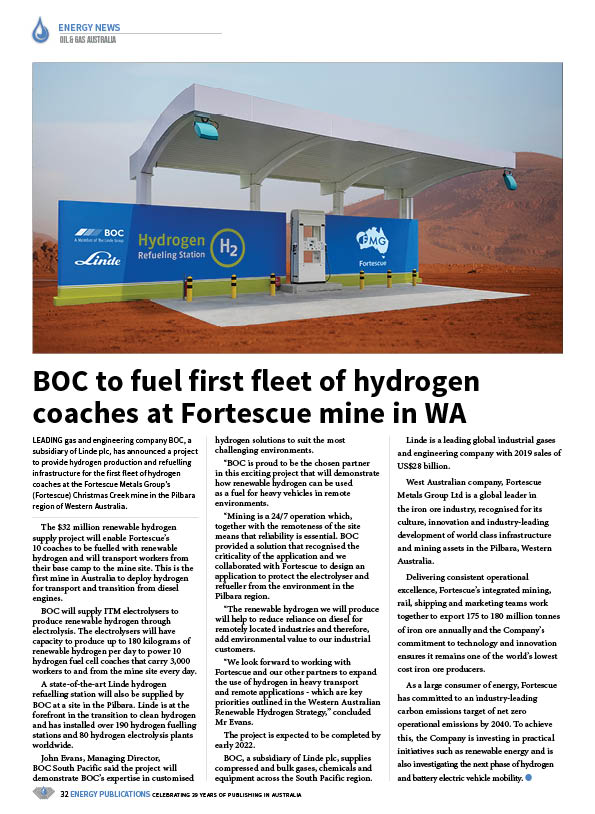 Oil & Gas Australia – October 2020 – Page 34