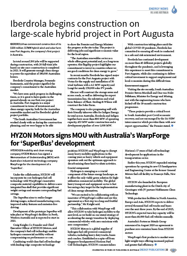 Oil & Gas Australia – October 2020 – Page 35