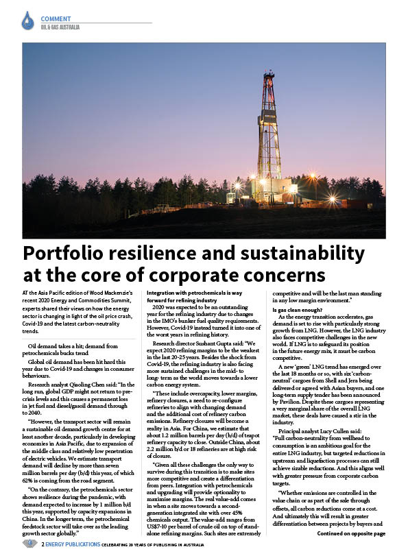 Oil & Gas Australia – October 2020 – Page 4