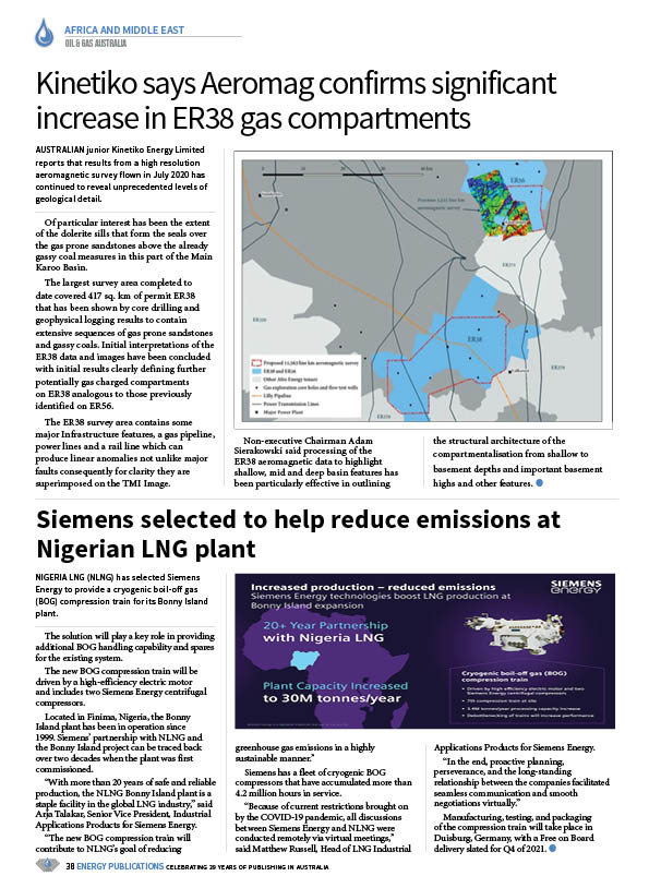 Oil & Gas Australia – October 2020 – Page 40