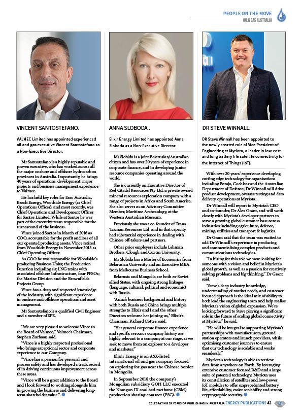 Oil & Gas Australia – October 2020 – Page 45