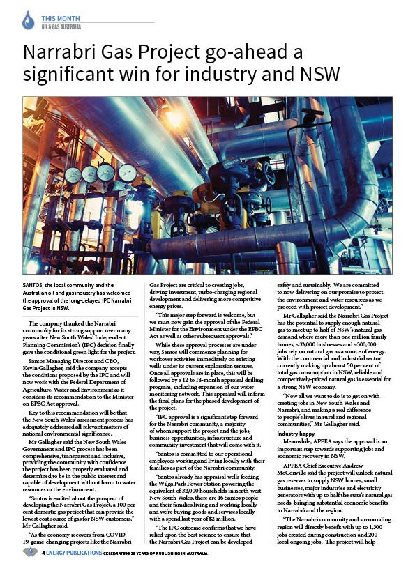 Oil & Gas Australia – October 2020 – Page 6