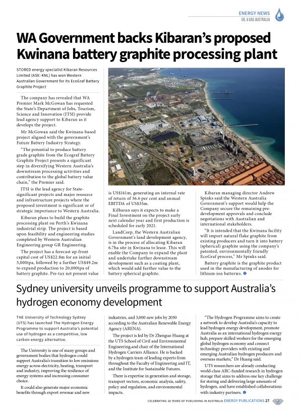 Oil & Gas Australia – October 2019 – Page 29