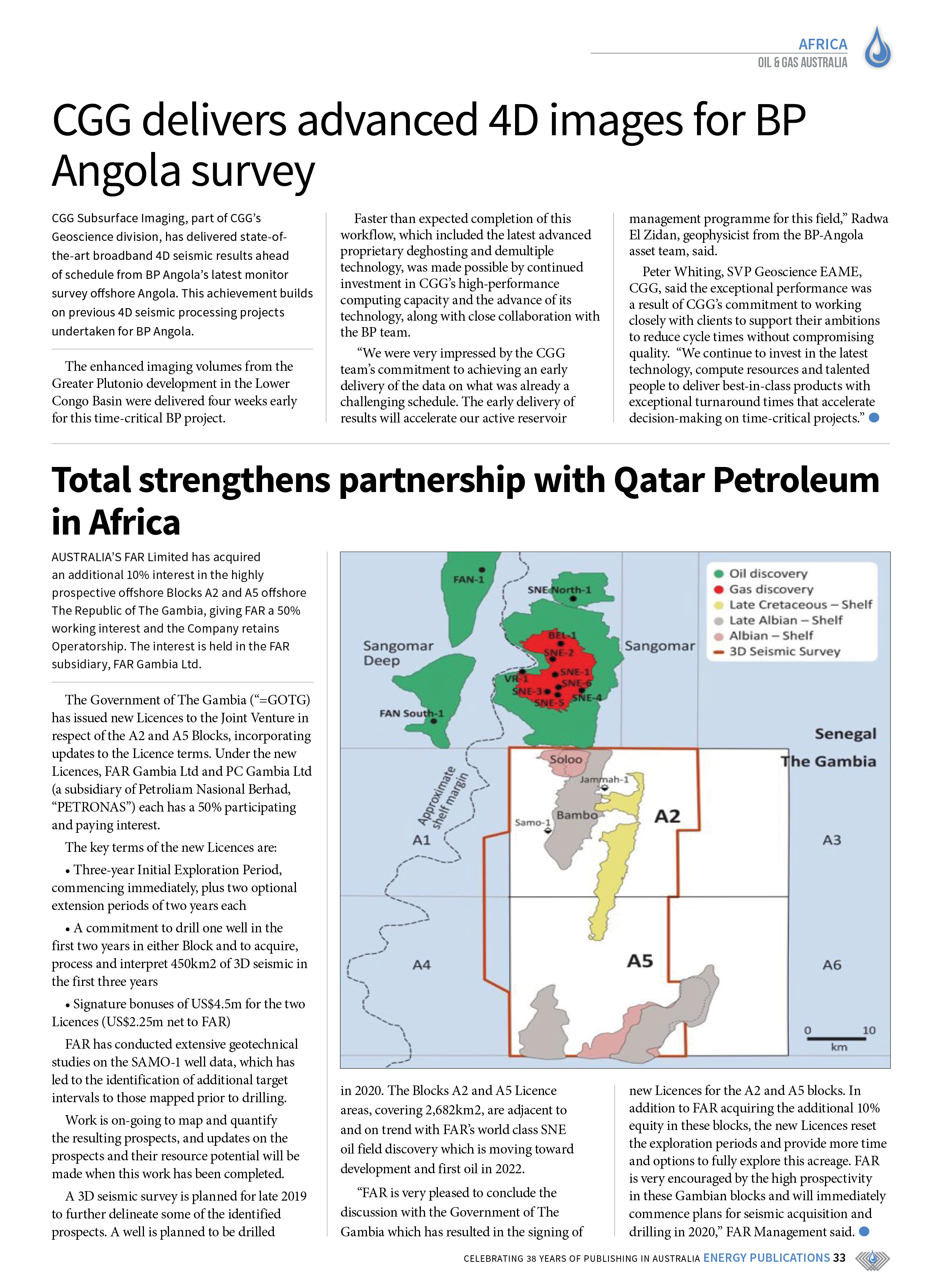 Oil & Gas Australia – October 2019 – Page 35