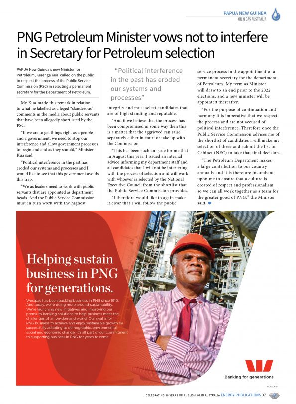 Oil & Gas Australia – October 2019 – Page 39