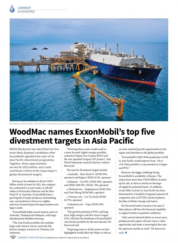 Oil & Gas Australia – October 2019 – Page 4
