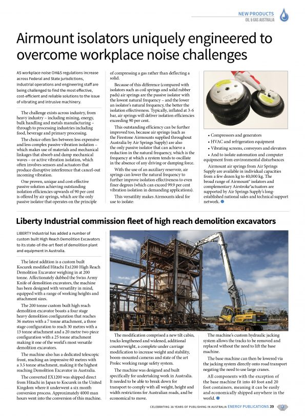 Oil & Gas Australia – October 2019 – Page 41