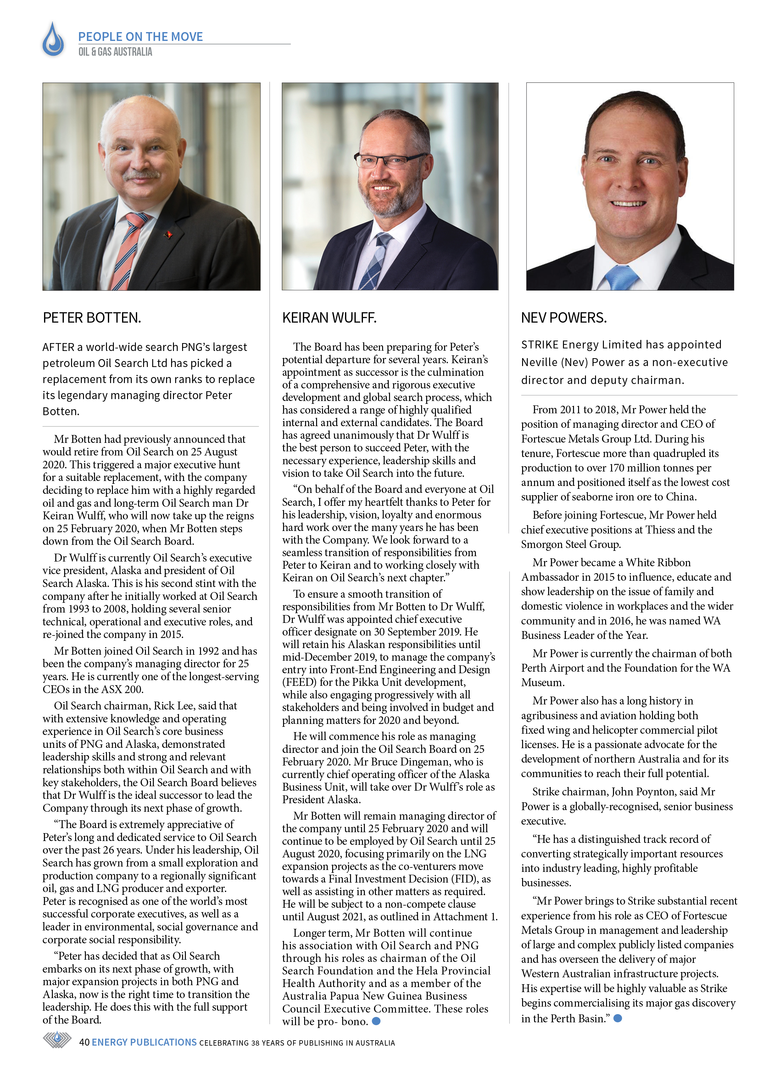 Oil & Gas Australia – October 2019 – Page 42