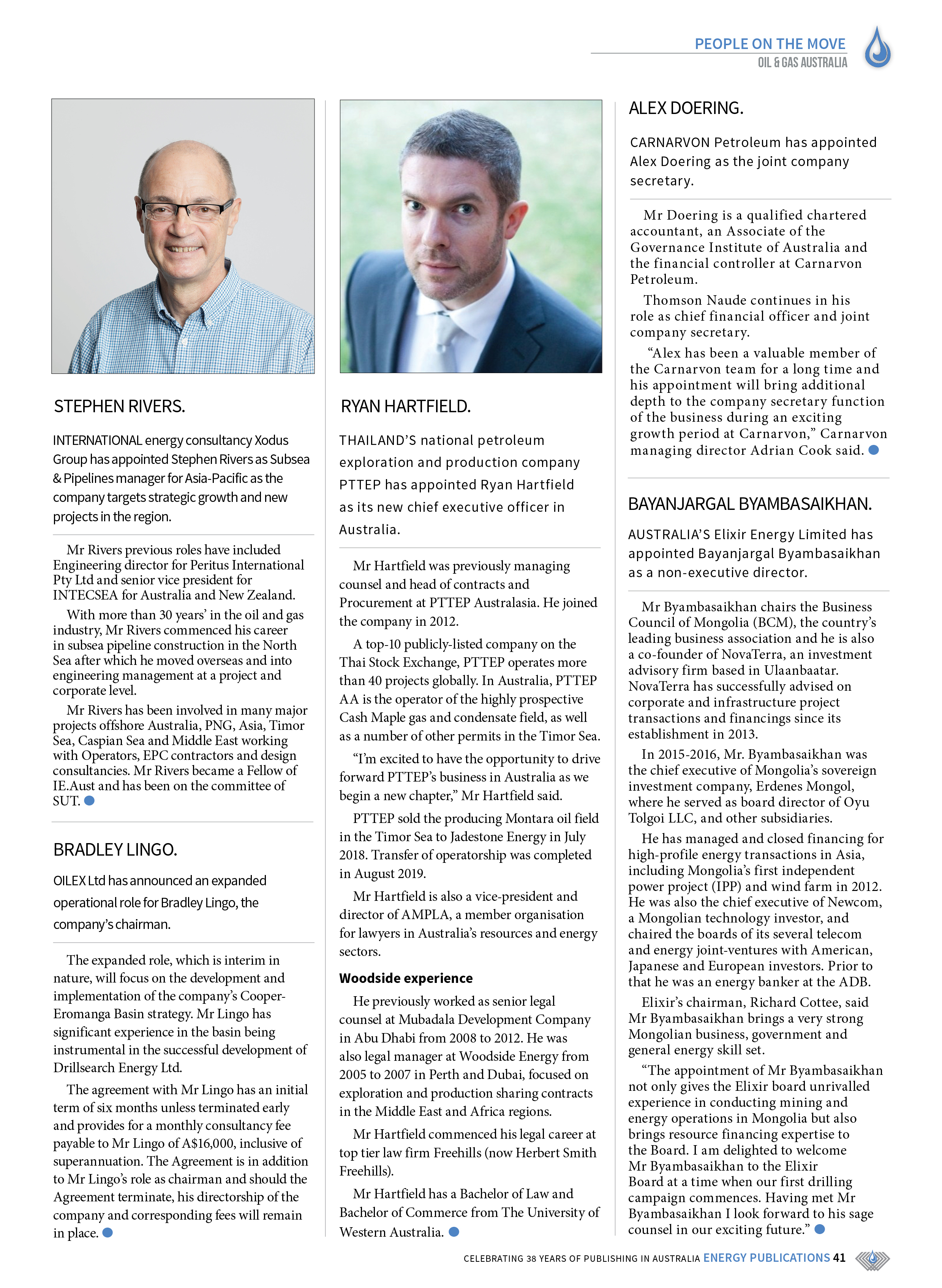 Oil & Gas Australia – October 2019 – Page 43