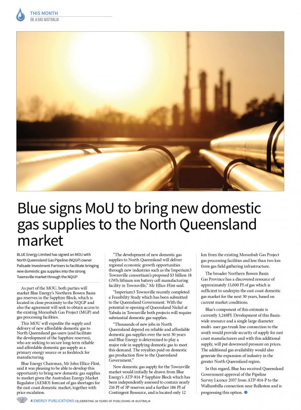 Oil & Gas Australia – October 2019 – Page 6