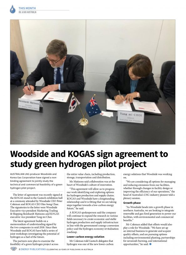 Oil & Gas Australia – October 2019 – Page 8