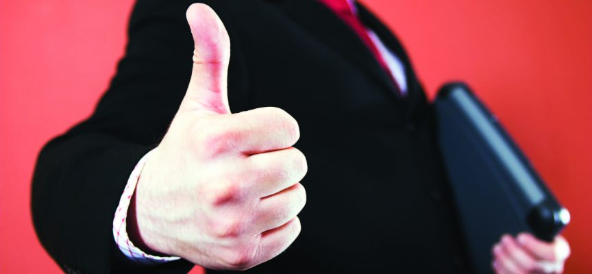 Survey finds executives feeling more positive