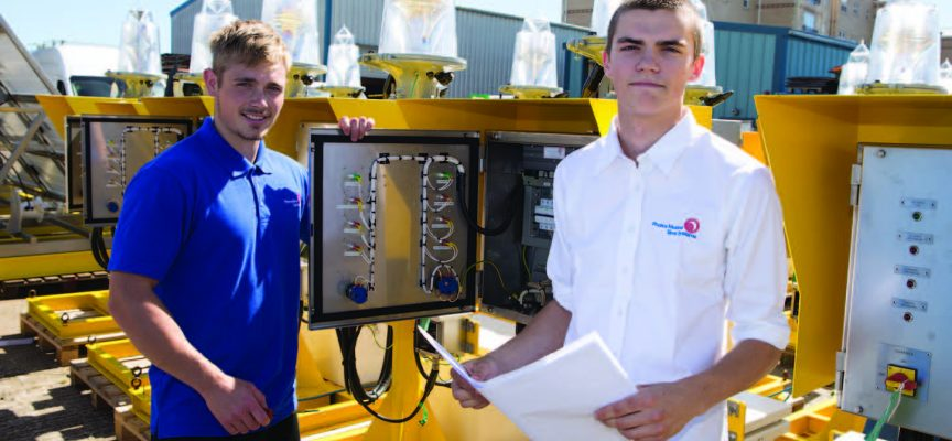 Company offers future to redundant apprentice engineers