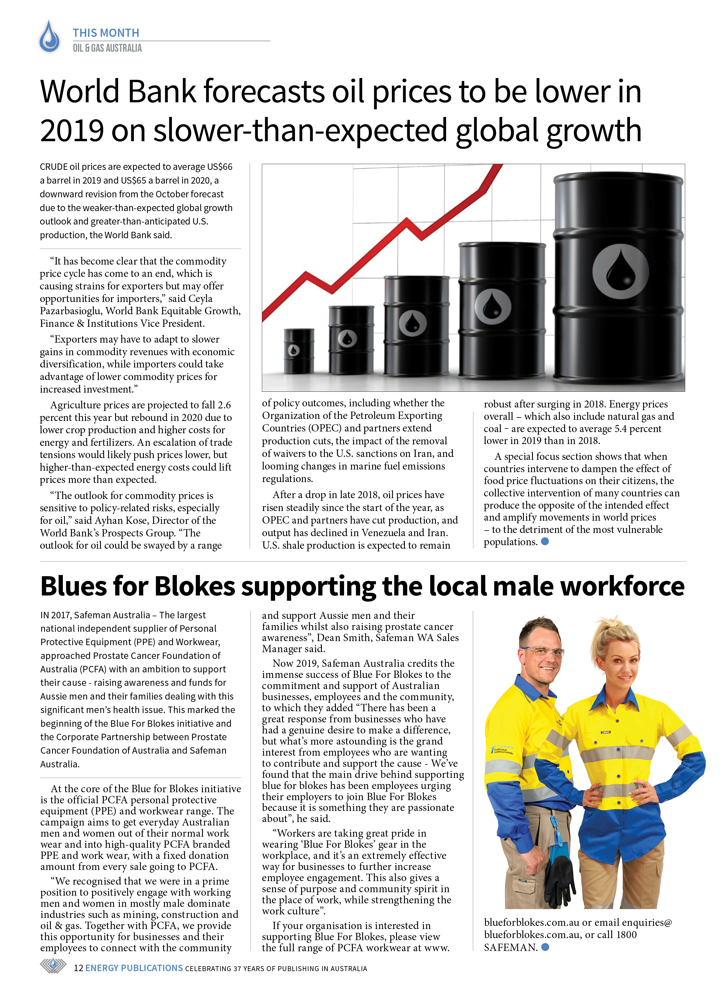 Oil & Gas Australia – May 2019 – Page 12