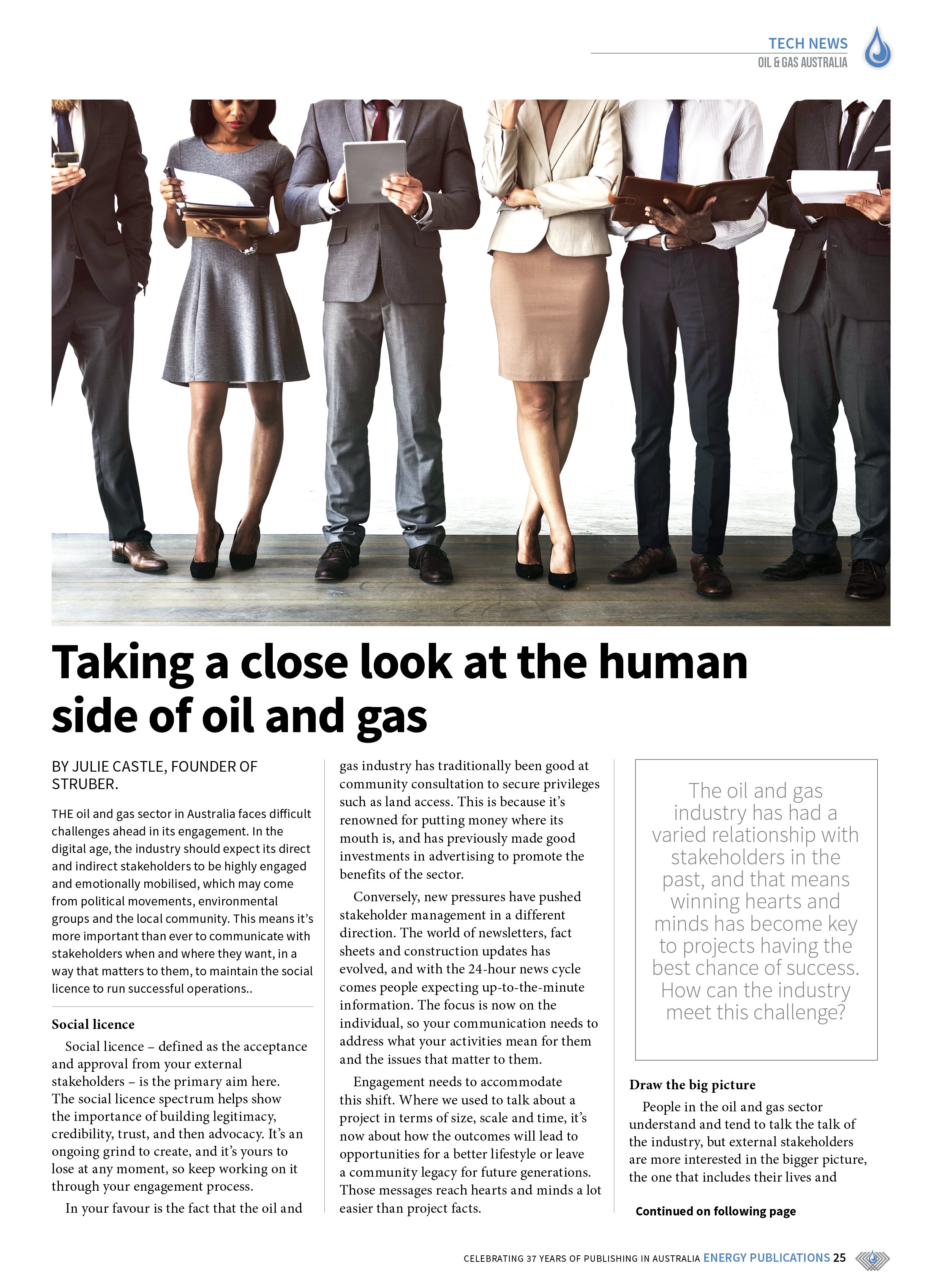 Oil & Gas Australia – May 2019 – Page 25