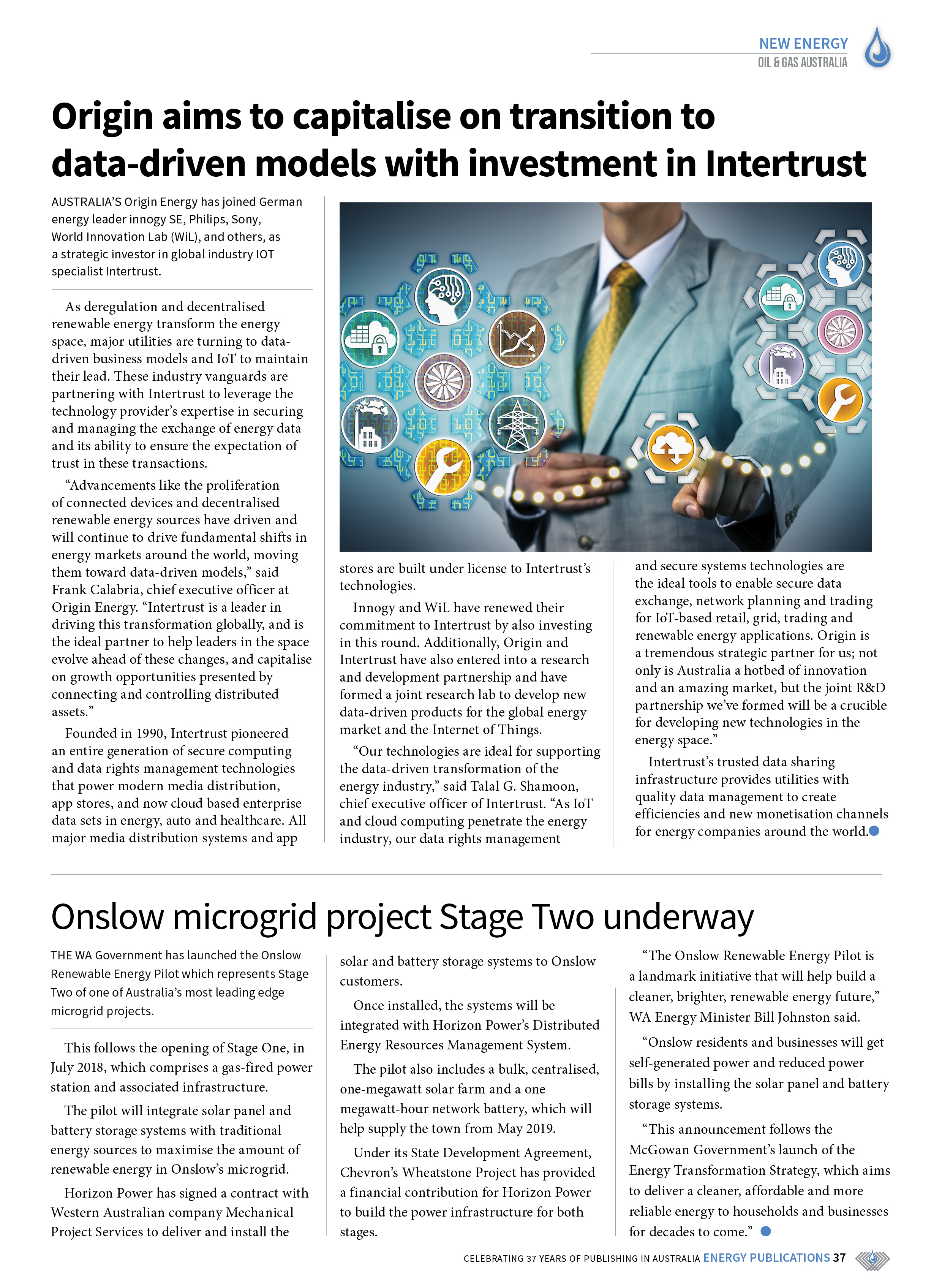 Oil & Gas Australia – May 2019 – Page 37