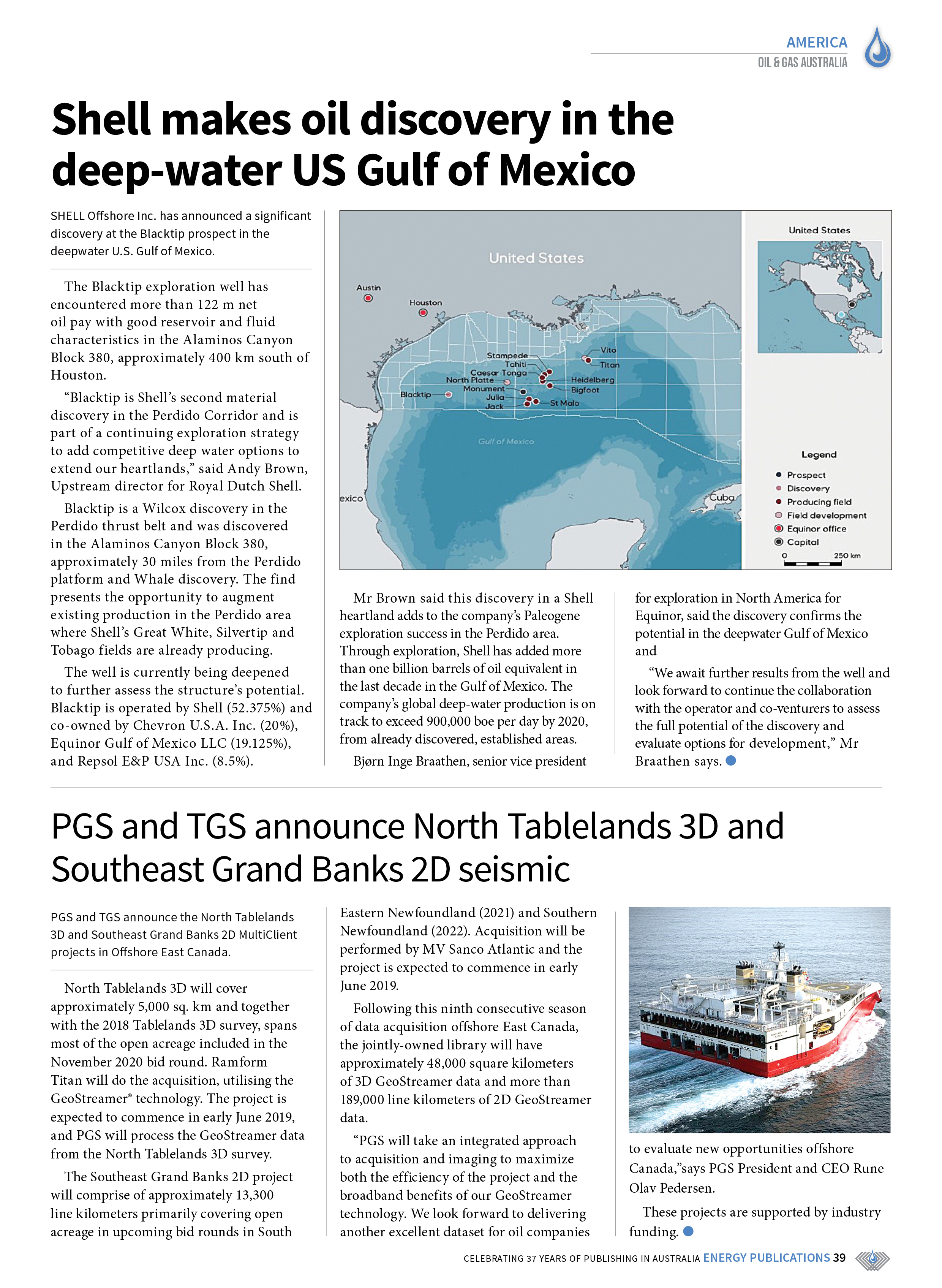 Oil & Gas Australia – May 2019 – Page 39