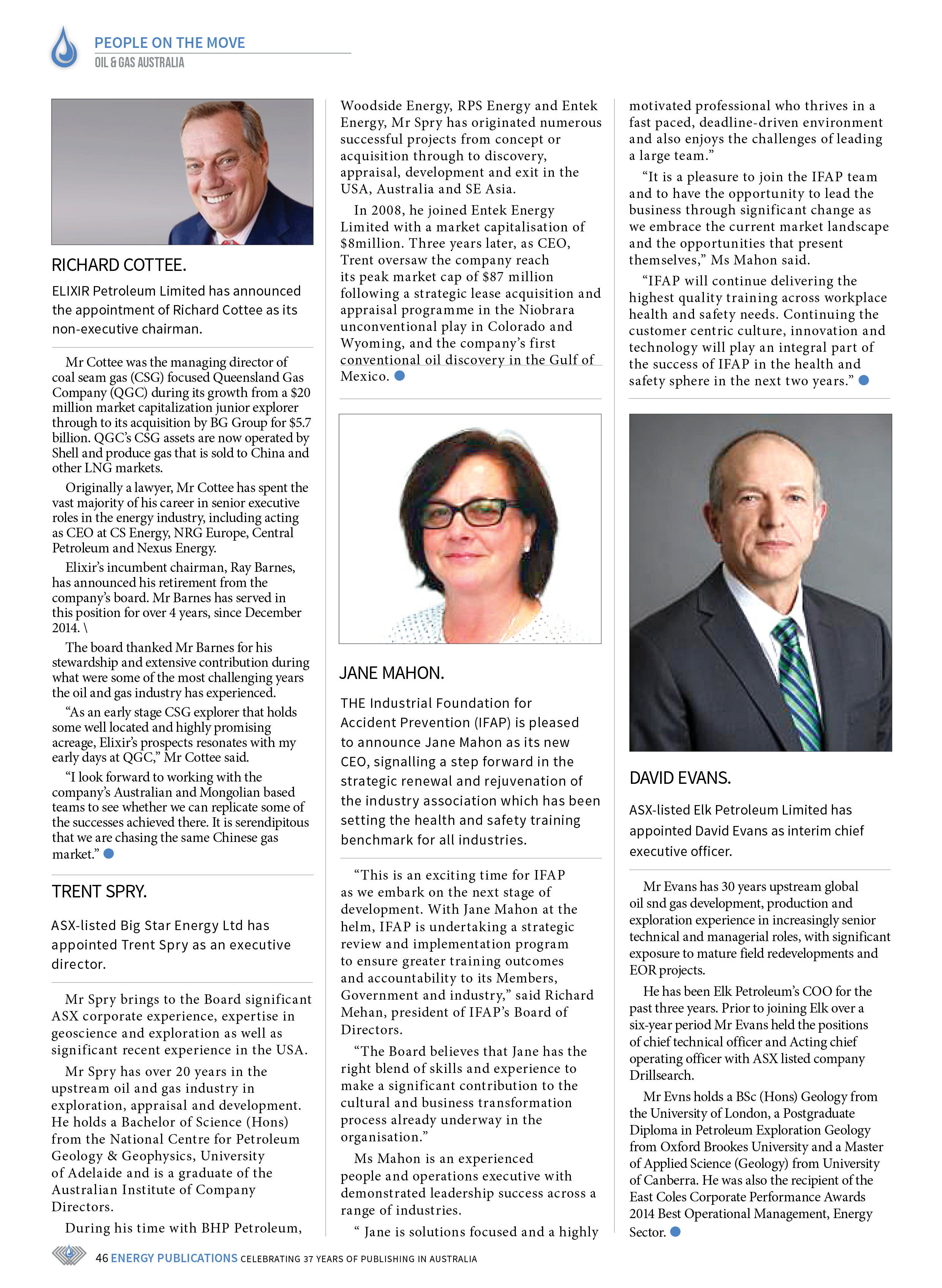 Oil & Gas Australia – May 2019 – Page 46