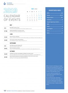 Oil & Gas Australia – May 2019 – Page 52 Calendar