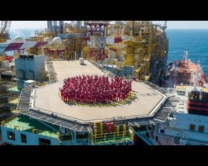 Life onboard the Prelude FLNG facility