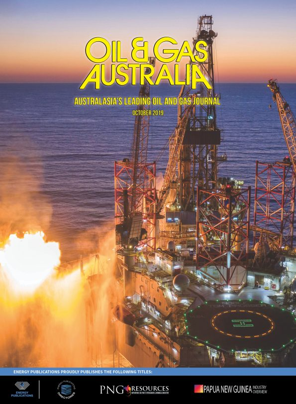 Oil & Gas Australia – October 2019 – Cover