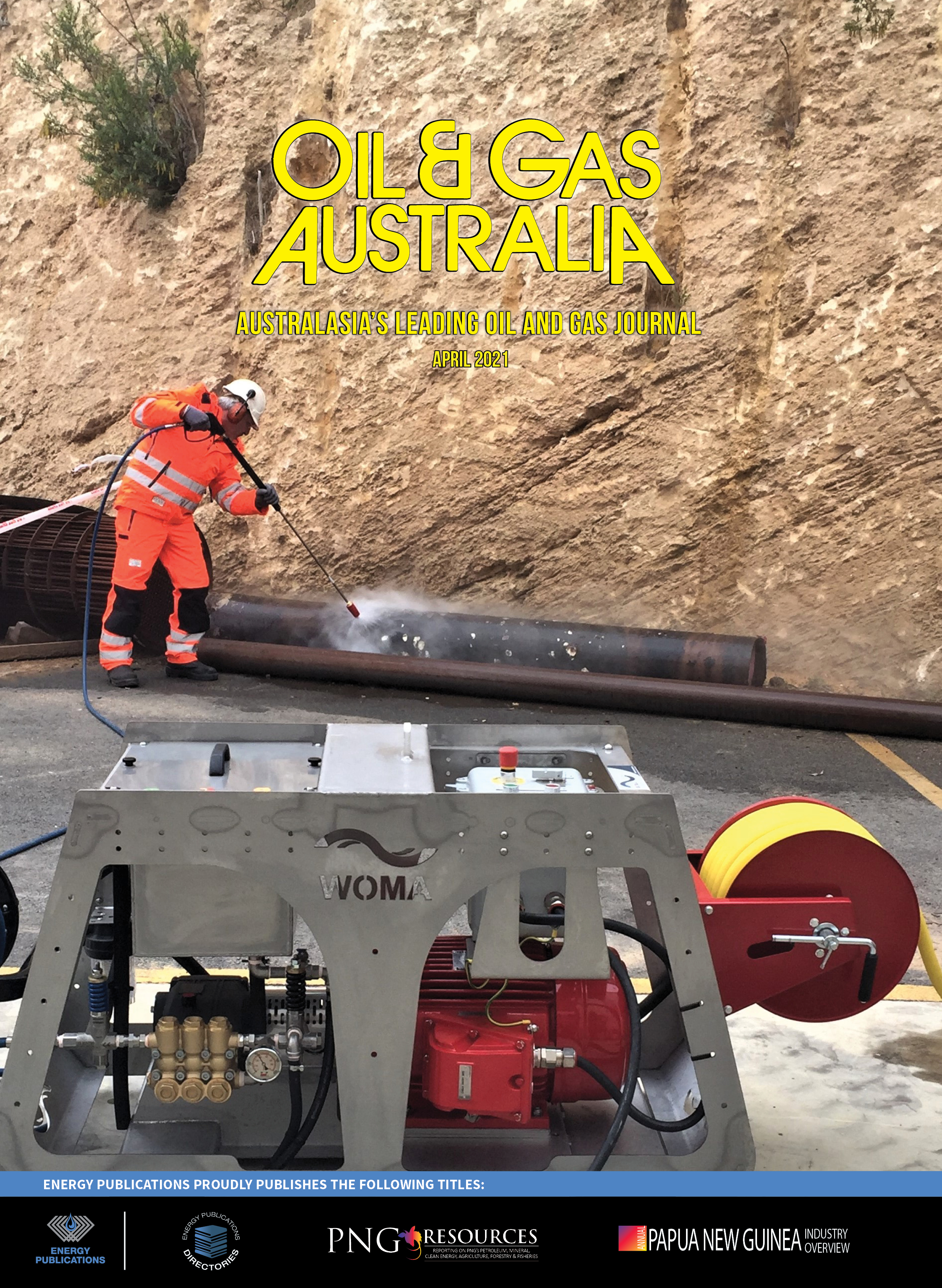 Oil & Gas Australia – April 2021 – Cover