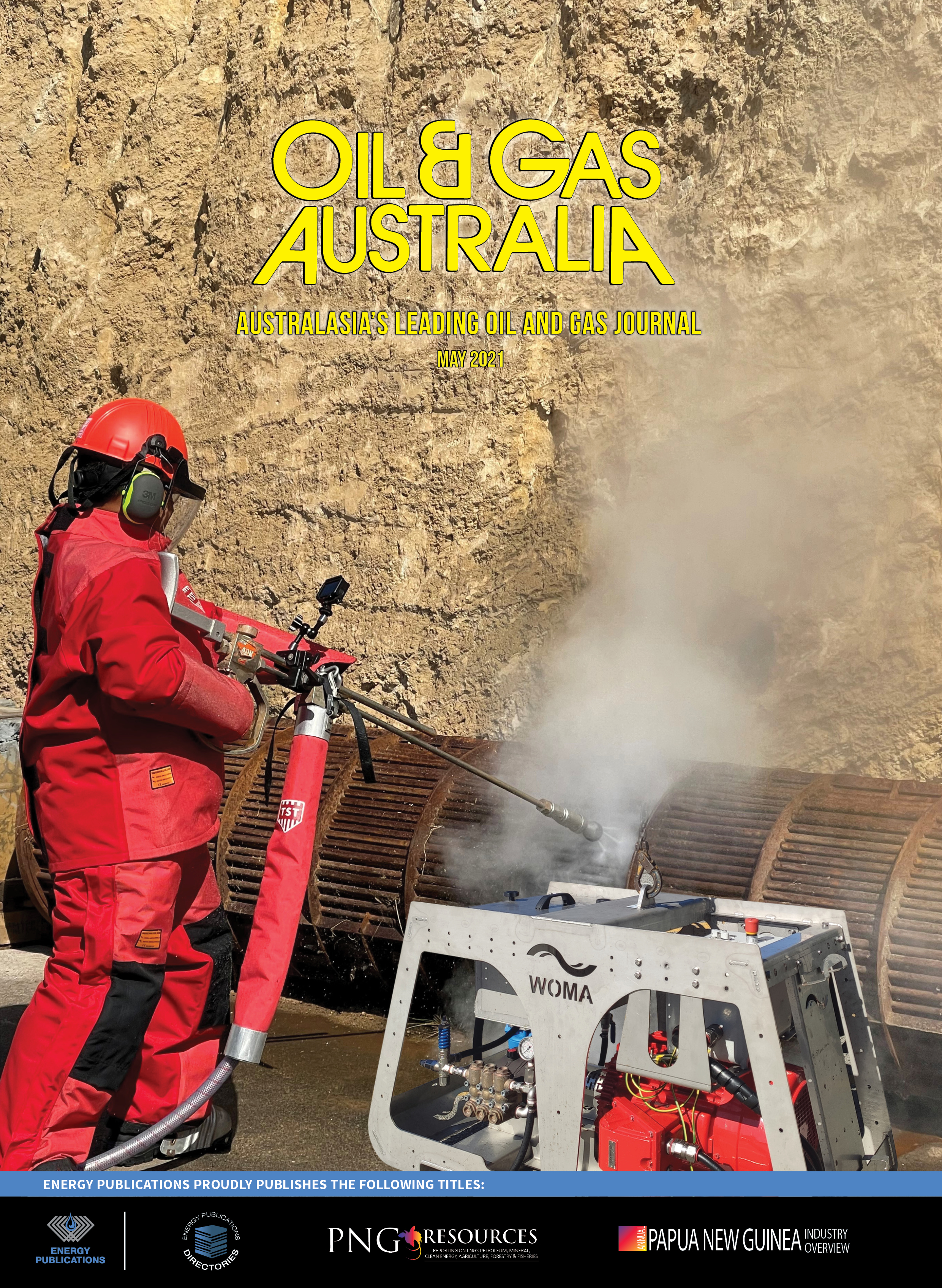 Oil & Gas Australia – May 2021 – Cover Page